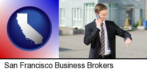 a business broker in San Francisco, CA